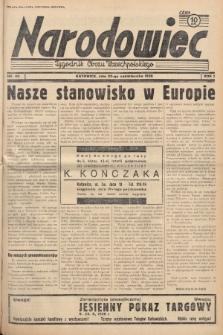 Narodowiec : tygodnik Obozu Wszechpolskiego. 1938, nr43