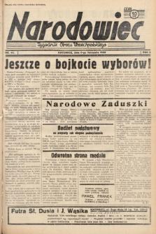 Narodowiec : tygodnik Obozu Wszechpolskiego. 1938, nr45