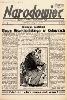 Narodowiec : tygodnik Obozu Wszechpolskiego. 1937, nr17