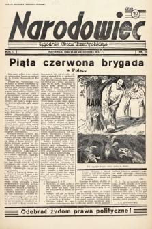 Narodowiec : tygodnik Obozu Wszechpolskiego. 1937, nr24