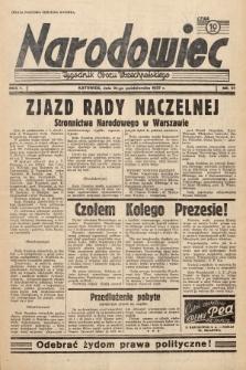 Narodowiec : tygodnik Obozu Wszechpolskiego. 1937, nr27