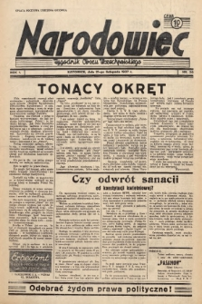 Narodowiec : tygodnik Obozu Wszechpolskiego. 1937, nr30