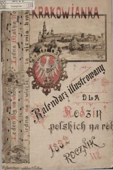 Krakowianka : Kalendarz Ilustrowany dla Rodzin Polskich na rok 1892