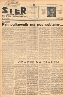 Ster : tygodnik żydowski dla spraw polityki i kultury. 1937, nr3