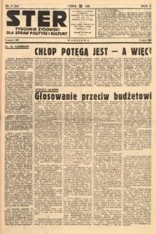 Ster : tygodnik żydowski dla spraw polityki i kultury. 1938, nr8 (54)