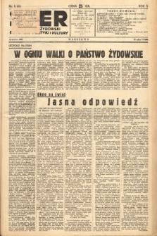 Ster : tygodnik żydowski dla spraw polityki i kultury. 1938, nr9 (55)