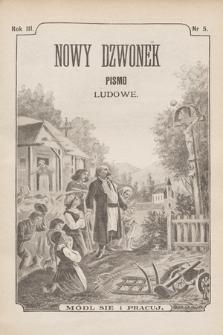 Nowy Dzwonek : pismo ludowe. 1895, nr5