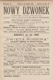 Nowy Dzwonek. 1902, nr9