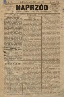 Naprzód : czasopismo polityczne i społeczne : organ partyi socyalno-demokratycznej. 1898, nr1