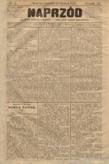 Naprzód : czasopismo polityczne i społeczne : organ partyi socyalno-demokratycznej. 1898, nr2