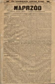 Naprzód : czasopismo polityczne i społeczne : organ partyi socyalno-demokratycznej. 1898, nr3 (po konfiskacie nakład drugi)