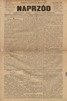 Naprzód : czasopismo polityczne i społeczne : organ partyi socyalno-demokratycznej. 1898, nr12