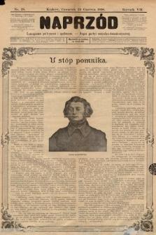 Naprzód : czasopismo polityczne i społeczne : organ partyi socyalno-demokratycznej. 1898, nr25