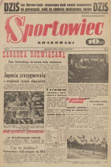 Sportowiec Krakowski. 1938, nr11 (wydanie poniedziałkowe)