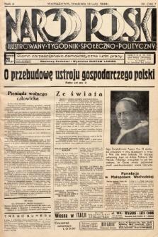Naród Polski : ilustrowany tygodnik społeczno-polityczny : pismo chrześcijańsko-demokratyczne ludzi pracy. 1938, nr15
