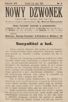 Nowy Dzwonek. 1906, nr5