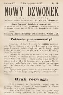 Nowy Dzwonek. 1907, nr10