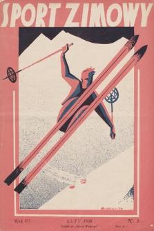 """Sport Zimowy : dodatek do """"Sportu Wodnego"""". R. 6[!], 1930, nr3"""