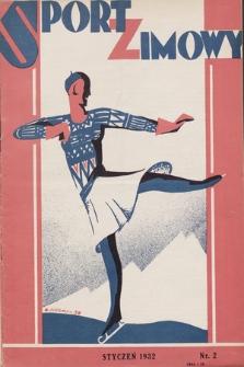 """Sport Zimowy : dodatek do """"Sportu Wodnego"""". R. [3], 1932, nr2"""