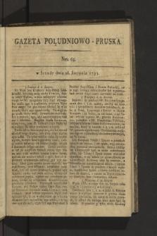 Gazeta Południowo-Pruska. 1795, nr68