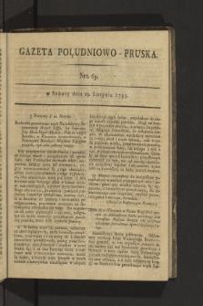 Gazeta Południowo-Pruska. 1795, nr69