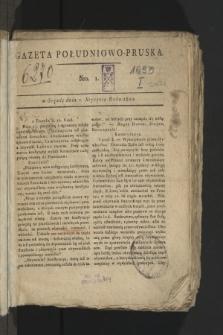 Gazeta Południowo-Pruska. 1800, nr1
