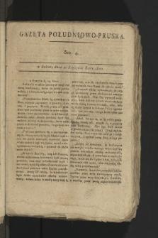 Gazeta Południowo-Pruska. 1800, nr4