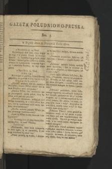 Gazeta Południowo-Pruska. 1800, nr5
