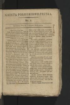 Gazeta Południowo-Pruska. 1800, nr6