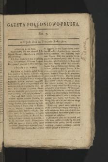 Gazeta Południowo-Pruska. 1800, nr7