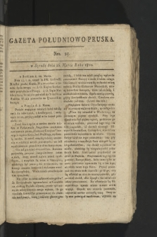 Gazeta Południowo-Pruska. 1800, nr25
