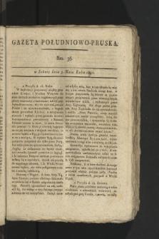 Gazeta Południowo-Pruska. 1800, nr36
