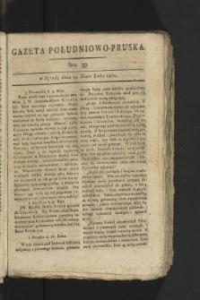 Gazeta Południowo-Pruska. 1800, nr39