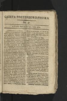 Gazeta Południowo-Pruska. 1800, nr47