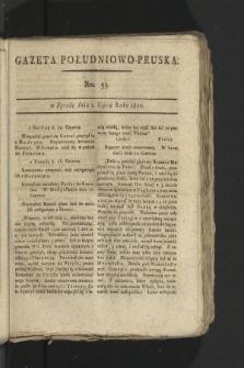 Gazeta Południowo-Pruska. 1800, nr53