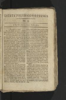 Gazeta Południowo-Pruska. 1800, nr59