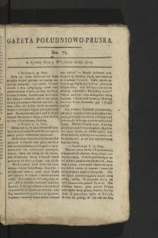 Gazeta Południowo-Pruska. 1800, nr71