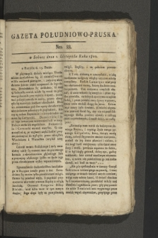 Gazeta Południowo-Pruska. 1800, nr88