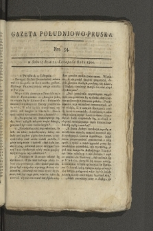 Gazeta Południowo-Pruska. 1800, nr94