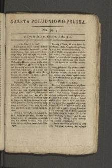 Gazeta Południowo-Pruska. 1800, nr99