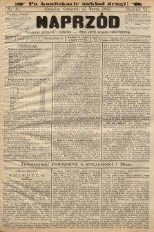 Naprzód : czasopismo polityczne i społeczne : organ partyi socyalno-demokratycznej. 1897, nr12 (po konfiskacie nakład drugi)