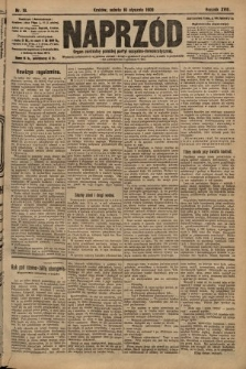 Naprzód : organ centralny polskiej partyi socyalno-demokratycznej. 1909, nr16