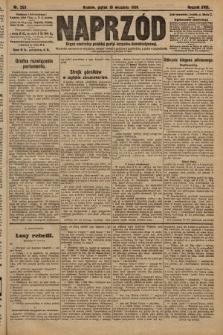 Naprzód : organ centralny polskiej partyi socyalno-demokratycznej. 1909, nr253