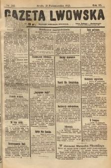 Gazeta Lwowska. 1925, nr242