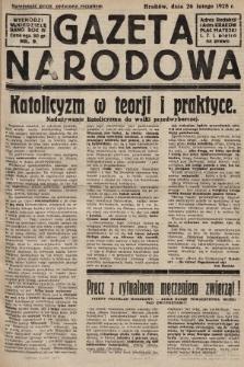 Gazeta Narodowa. 1928, nr9