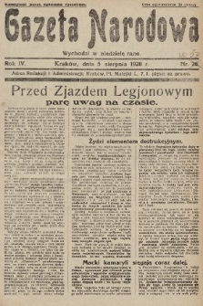 Gazeta Narodowa. 1928, nr27