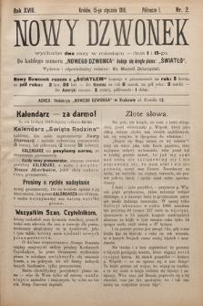Nowy Dzwonek. 1910, nr2