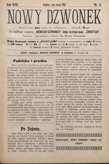 Nowy Dzwonek. 1910, nr5