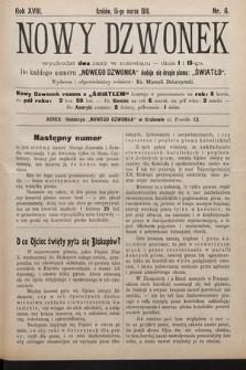 Nowy Dzwonek. 1910, nr6