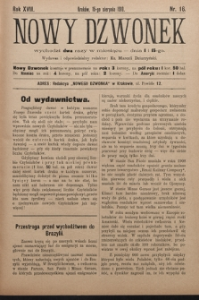 Nowy Dzwonek. 1910, nr16